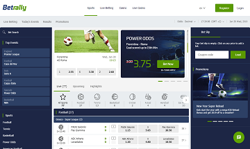 Betrally Bookmaker Review | Betrally Sports Betting