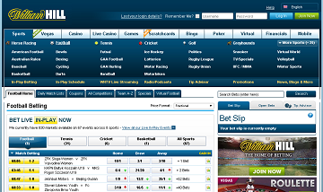 william hill official webiste